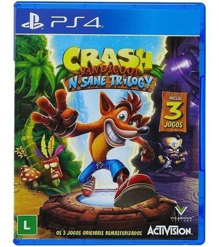 Mídia Fisíca - Crash Bandicoot N