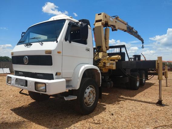 Caminhão Vw 16.170, Com Munck Hg35 - 1013