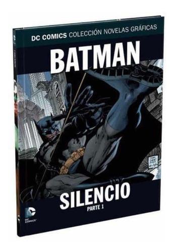 Imagen 1 de 3 de Colección Novelas Graficas Dc Tomo 1 Batman Silencio Parte 1