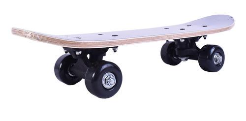 Imagen 1 de 4 de Skate Patineta Mini Doble Cola Lija Completa