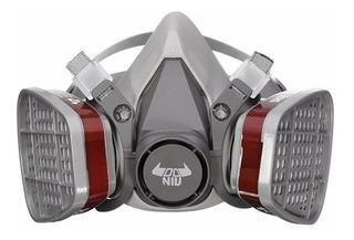 Máscara Epi Respirador Doniu 3m 6200 N95 Pó Vapores Spray