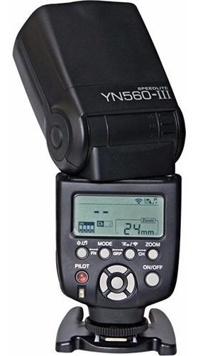 Flash Speedlight Yongnuo Yn560 Iii P/ Cameras Nikon E Canon