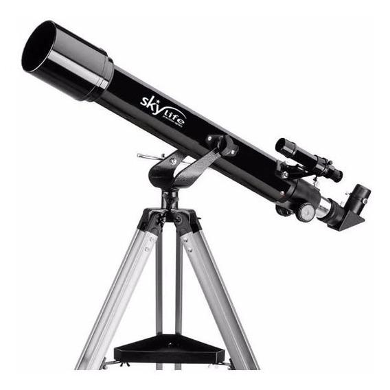 Telescópio Refrator Vox 70 Com Oculares Super Plossl + Tripé - Skylife Marca Especialista Em Produtos Astronômicos