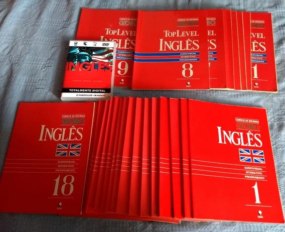 Curso Completo Inglês Globo + 27 Livros Com Cd