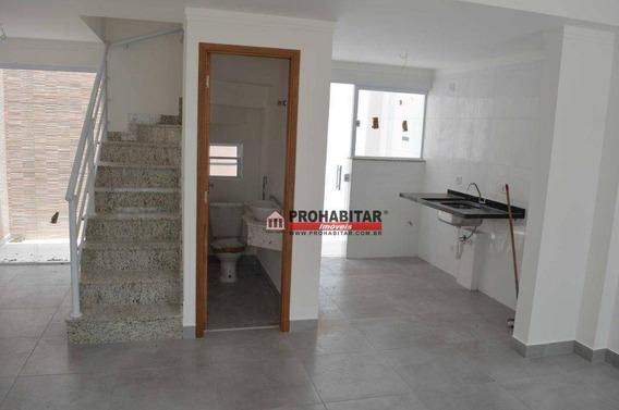 Sobrado Com 2 Dormitórios À Venda, 71 M² Por R$ 440.000,00 - Campo Grande - São Paulo/sp - So3063