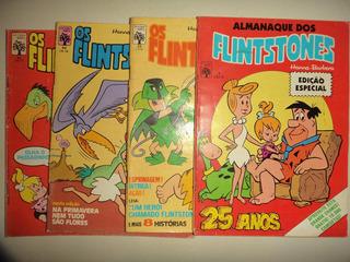 Lote Os Flintstones 23 30 31 + Almanaque 1 Editora Abril