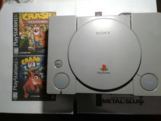 Playstation 1 Consola Con Chip Necesita Cambio De Lente