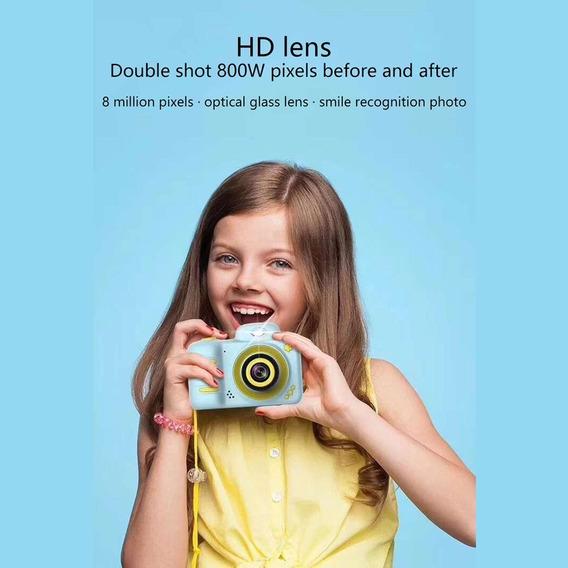 Câmera Digital Para Crianças 12mp Camcorder À Prova De Choqu