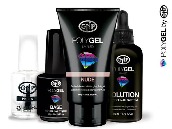 Kit Completo Polygel Gnp Nude