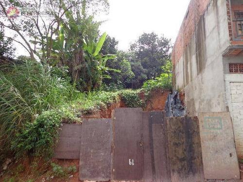 Terreno  Residencial À Venda, Valo Velho, Itapecerica Da Serra. - Te0010