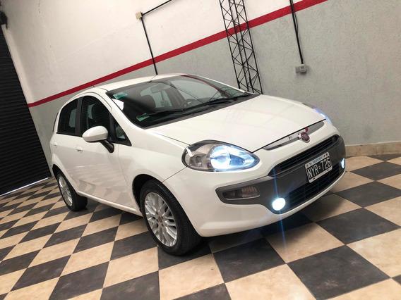 Fiat Punto 1.6 16v 2014 Blanco Impecable Al Dia Permuto