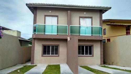 Casa No Flores Do Aguassai Próximo A Caucaia Com 2 Vagas De Garagem - Ca1261