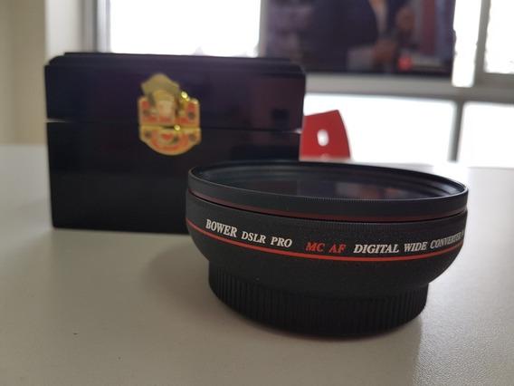 Lente Bower Dslr Pro Mc Af Digital 0.44x 58mm