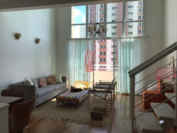 Cobertura Duplex Para Venda No Bairro Jardim Anália Franco Com 2 Suítes, 2 Vagas De Garagem, 92 M². - 4798
