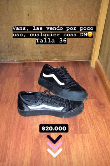 Zapatillas Vans Olds School Con Plataforma (no Originales)