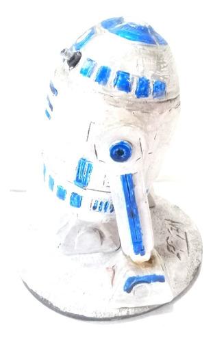 R2d2 Star Wars Boneco Artesanal  Unico Pronta Entrega