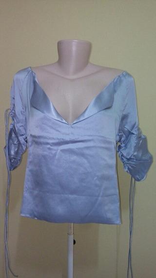 Blusa Valentino 100% Seda Original Importado.