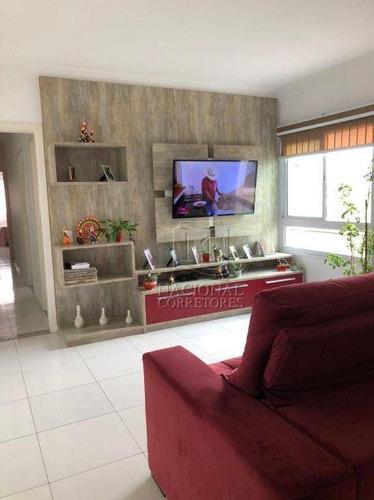 Imagem 1 de 25 de Cobertura Com 3 Dormitórios À Venda, 208 M² Por R$ 650.000,00 - Parque Jaçatuba - Santo André/sp - Co5612