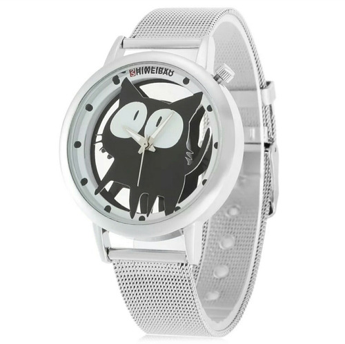 Relógio Feminino  Aço Inox Pronta Entrega Promoção C/estojo