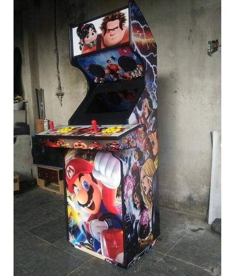 Fliperama Arcade Multijogos (frete Grátis)
