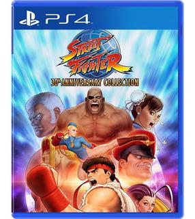 Street Fighter 30 Aniversario Collection Ps4 Nuevo 12 En 1