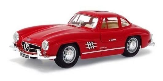 Mercedes-benz 300 Sl ( 1954 ) Vermelho Burago Escala 1/18