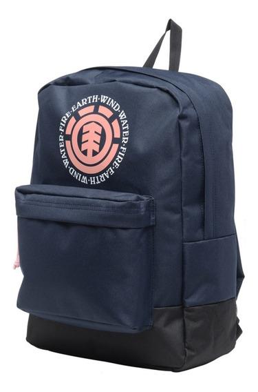 Mochila Element Elemental Boys Backpack Black Negro Azul