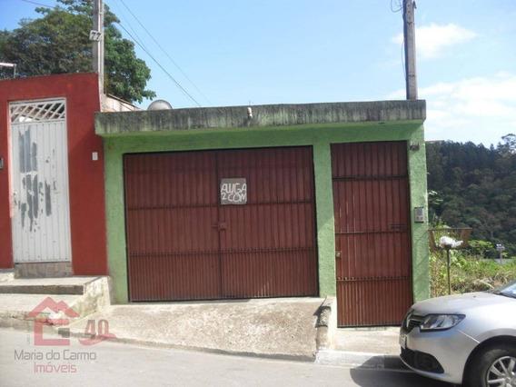 Casa Com 1 Dormitório Para Alugar, 54 M² Por R$ 500,00/mês - Centro (cotia) - Cotia/sp - Ca1390