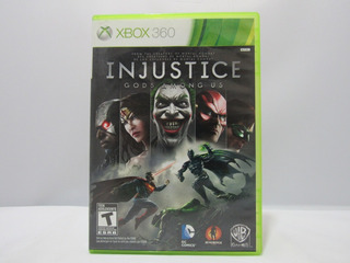 Injustice Gods Among Us - Xbox 360 ¡fisico-usado!