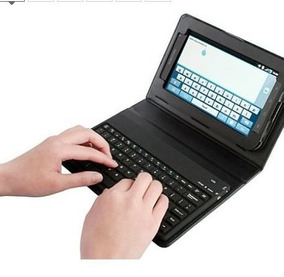 Teclado C/capa P/tablet Em Usb E Micro Usb. Envio Td.brasil