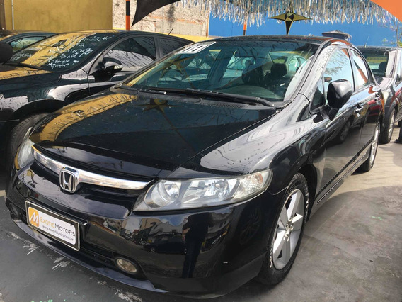 Honda Civic 1.8 Lxs Flex Aut. 4p 2008