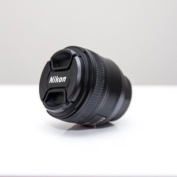 Lente Nikon 50mm F/1.8 Af-s Fx