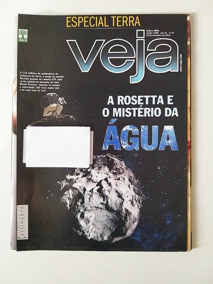 Revista Veja Edição 2400 De 19 De Novembro De 2014