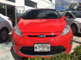 Ford Fiesta Ses 2012 Rojo
