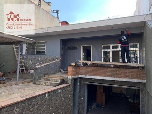 Imagem 1 de 9 de Casa Com 3 Dormitórios À Venda, 360 M² Por R$ 1.382.000,00 - Vila Bastos - Santo André/sp - Ca0427