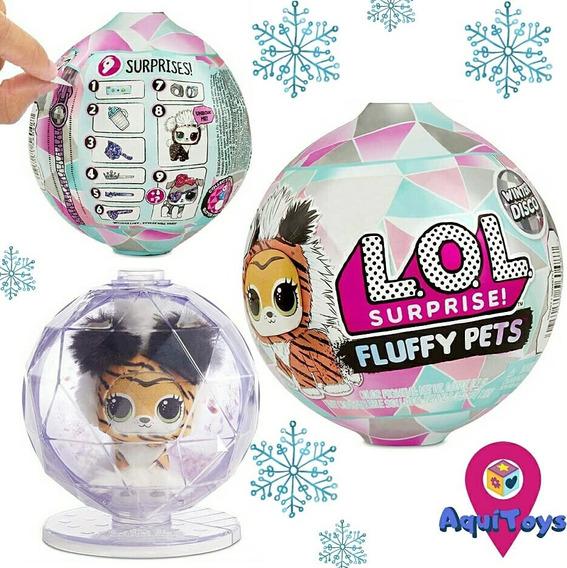 L.o.l Surprise Serie Winter Disco Fluffy Pets 35usa