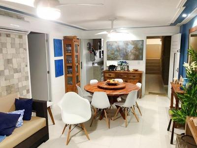 Apartamento Com 3 Quartos À Venda, 115 M², Mobiliado, Golf Ville, Beira Mar - Porto Das Dunas - Aquiraz/ce - Ap0588