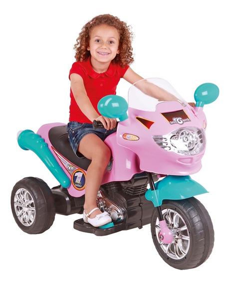 Moto Elétrica Infantil Criança Speed Chopper 6v Homeplay