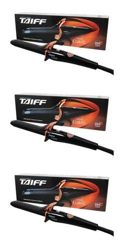 Taiff Modelador De Cachos Curves 1 Bivolt 3m (kit C/03)