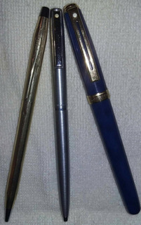 Plumas Sheaffer & Cross(el Precio Es Por Las Tres)