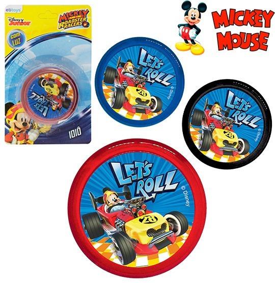 Ioio (yoyo) Com Luz De Plastico Mickey Colors
