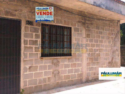 Casa Com 3 Dorms, Jardim Praia Grande, Mongaguá - R$ 165.000,00, 142m² - Codigo: 19907 - A19907