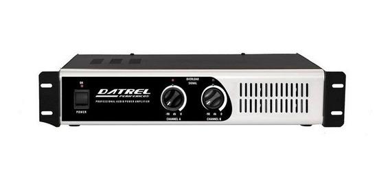 Amplificador De Potencia Pa10000 Datrel Profissional 1000 W