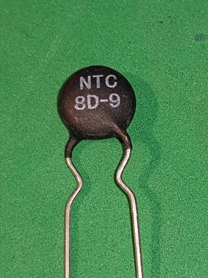 8d-9 Ntc8d-9 Resistor Termistor Ntc 8d-9 8 Ohm 2a 3 Peças