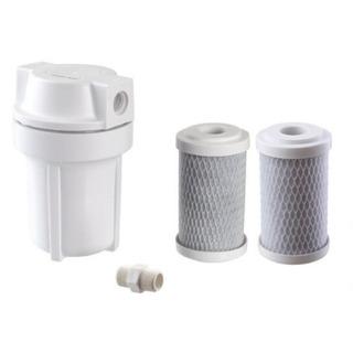 Filtro Para Chuveiro Ducha +2 Refil Extra Cloro Sujeiras 98%