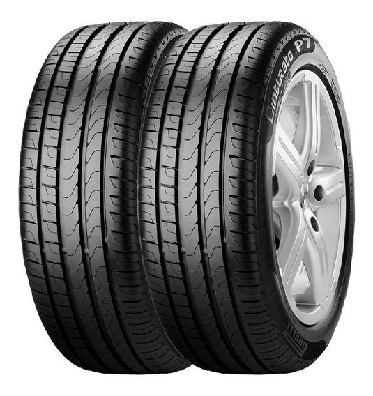 Combo X4 Neumaticos Pirelli 205/45r17 88v Xl P7cin Cuotas