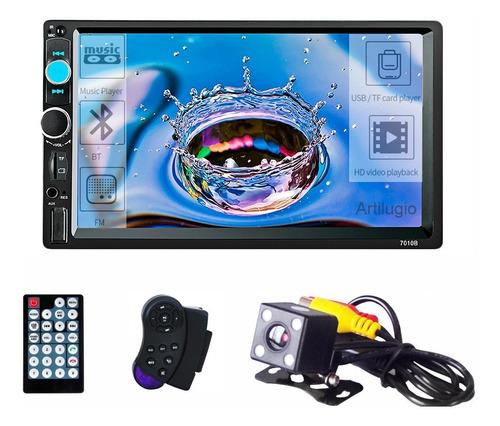 Autoestereo Mirrorlink 7010b 7 Inch Touch Mp5 Camara Reversa