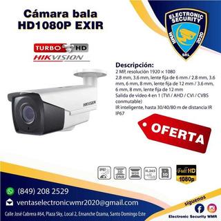 Cámara Hd 1080p Hikvision Exir