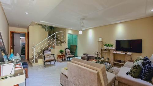 Imagem 1 de 21 de Sobrado Com 3 Dormitórios À Venda, 171 M² - Assunção - São Bernardo Do Campo/sp - So20753