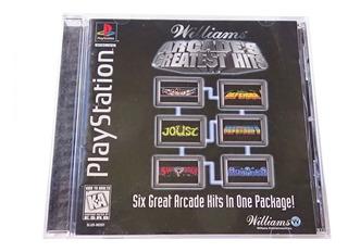 Williams Arcade Greatest Hits Juego Original Playstation 1